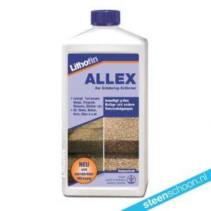 Lithofin ALLEX groene aanslag verwijderen