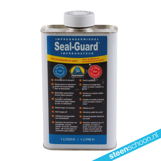 Seal-Guard impregneermiddel voor porcellanato en steen