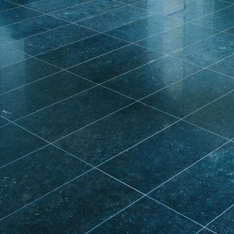 hardsteen tegels schoonmaken